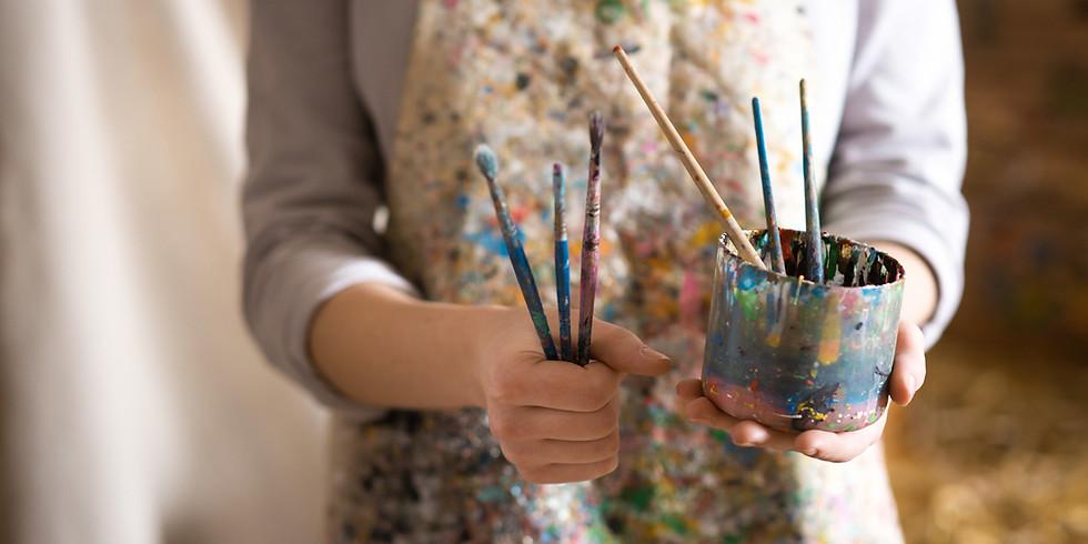 Atelier DEC : Être artiste, ce n'est pas triste ! Découverte d'un métier.