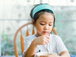 How to develop healthy eating habits in children