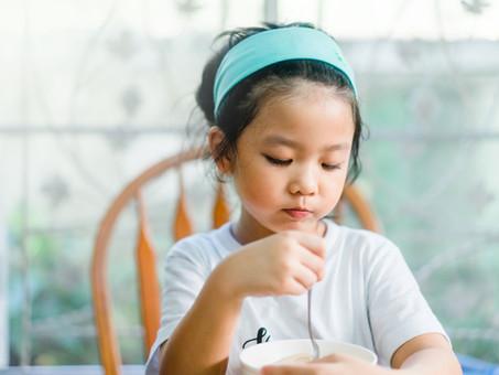 Quarantine goals: Develop healthy eating habits in children