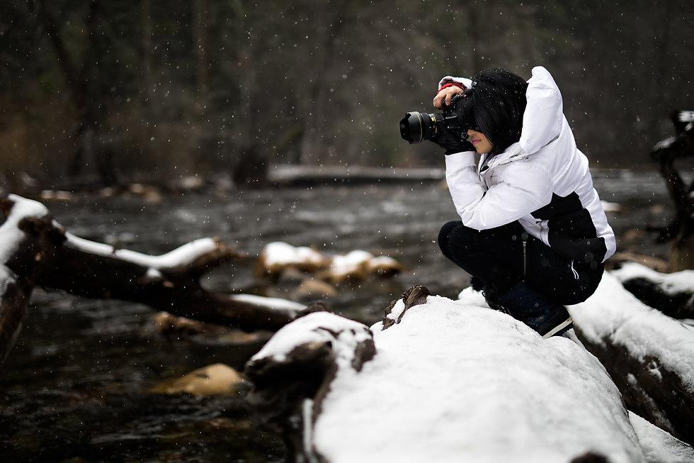 雪の写真家