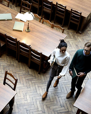 Couple in Library