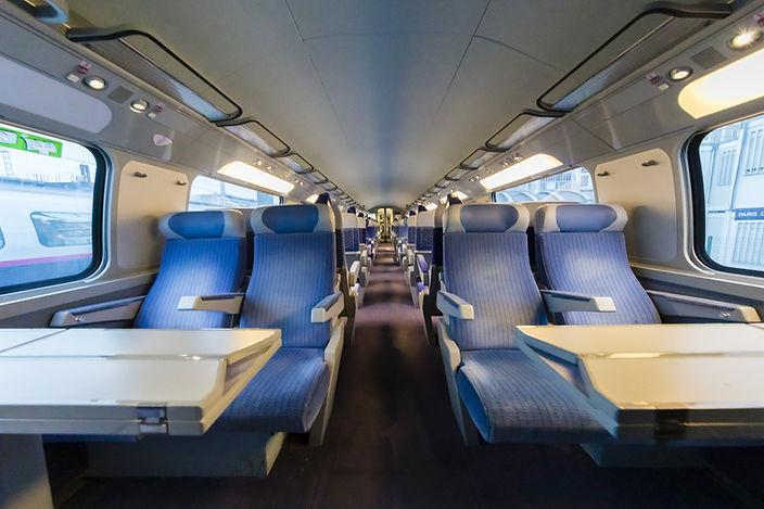 Intérieur d'un train