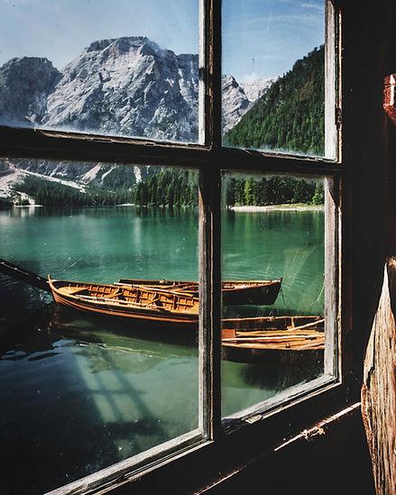 Canoe dalla finestra