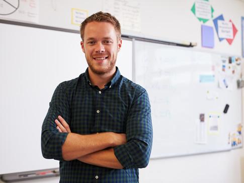 Enseignant de sexe masculin