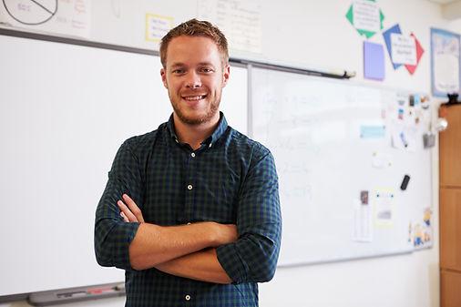 Professor masculino