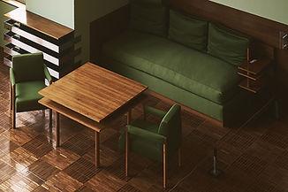 グリーン家具