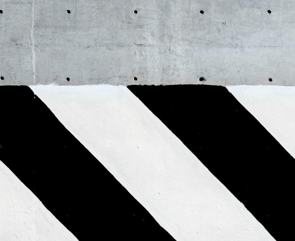 Strisce bianche e nere