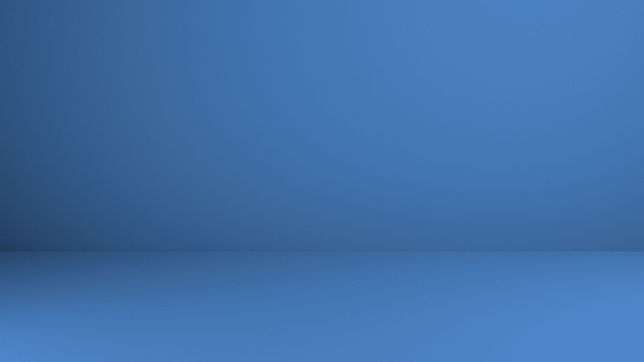Blaue Schwebe