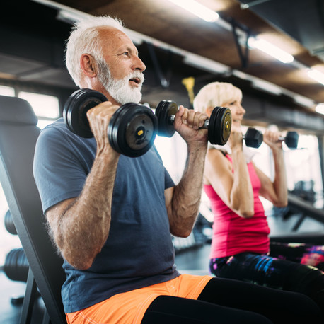 Weight training and Working Out When You are Over 50