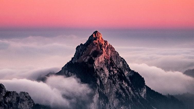Molnigt berg