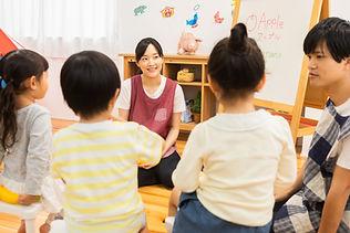幼稚園の風景