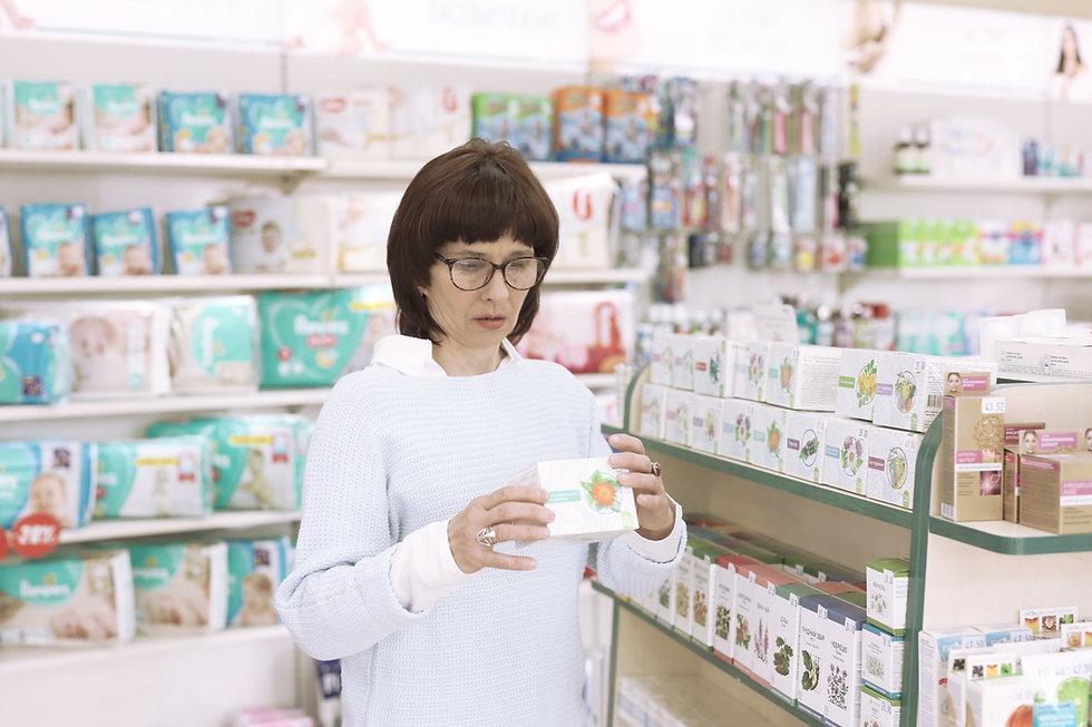 Woman at Nature Store