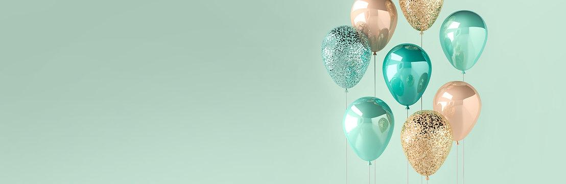 3D Luftballons