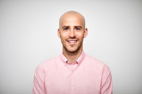 Businessman in Pink Shirt