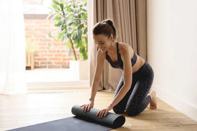 Colchoneta de yoga plegable