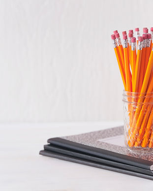 Pencils and Notebooks