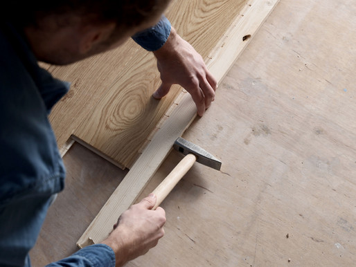 The basic differences between laminate, engineered and solid wood flooring