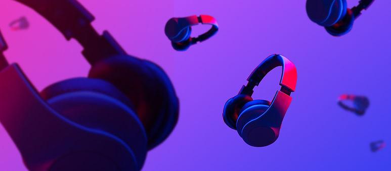 Headphones Floating