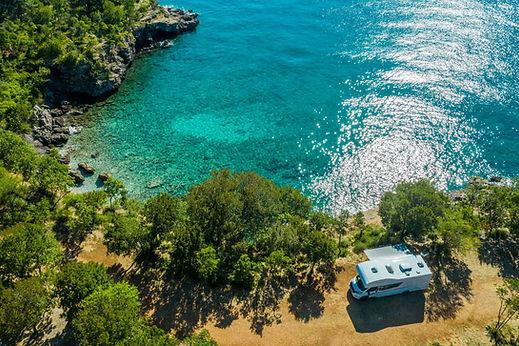 Campsite by the Sea