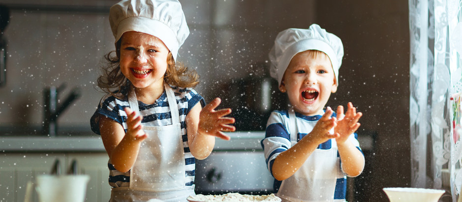 10 Benefits of Sharing The Kitchen and Cooking With Your Children and Grandchildren
