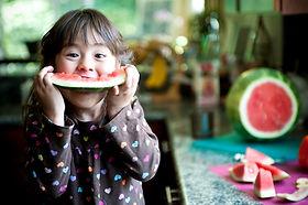 การกินแตงโม