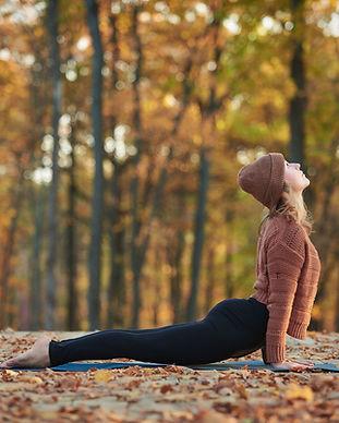 Yoga en forêt
