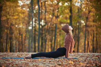Yoga en automne - Ose Yoga