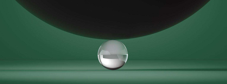 Esfera de plata