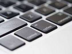 Keyboard Closeup
