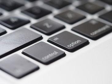 Primer plano del teclado