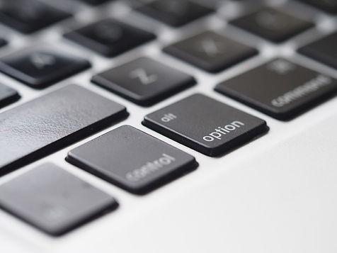 Tastatur nærbilde