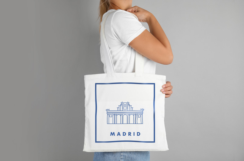 Canvas Bag Madrid