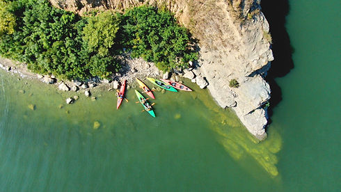 Kayaks from Above