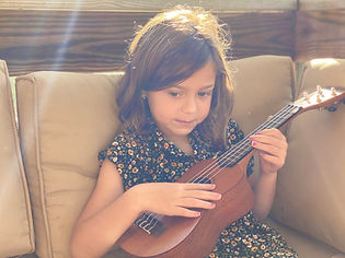 Girl with Ukelele