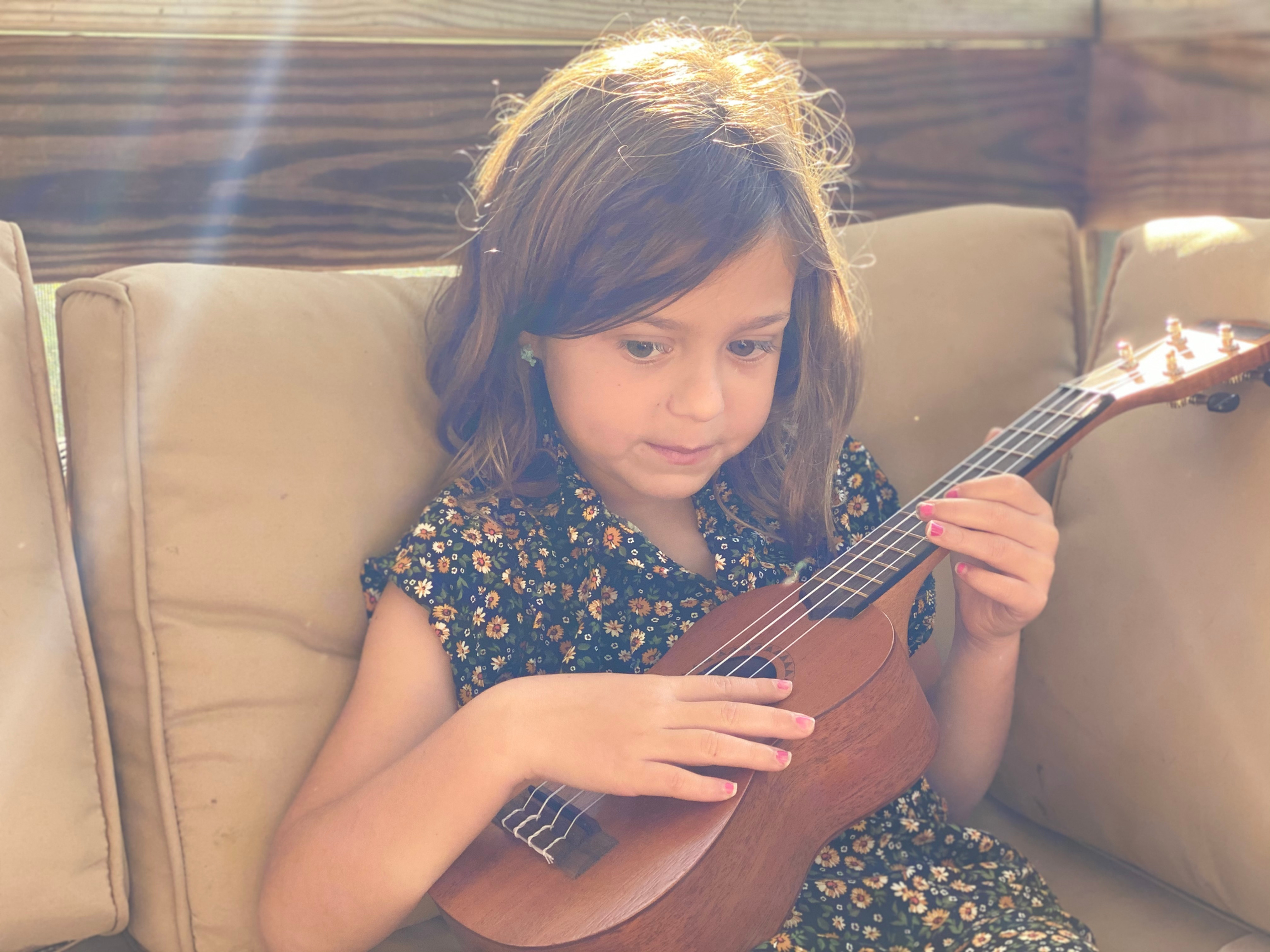 Music Lesson - Guitar, Ukelele or Voice