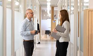 Corridor Meeting