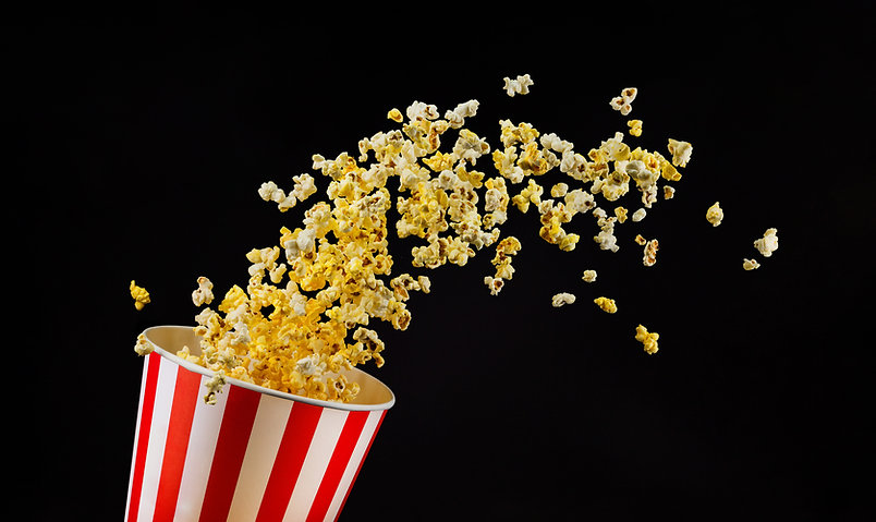 Caduta di popcorn