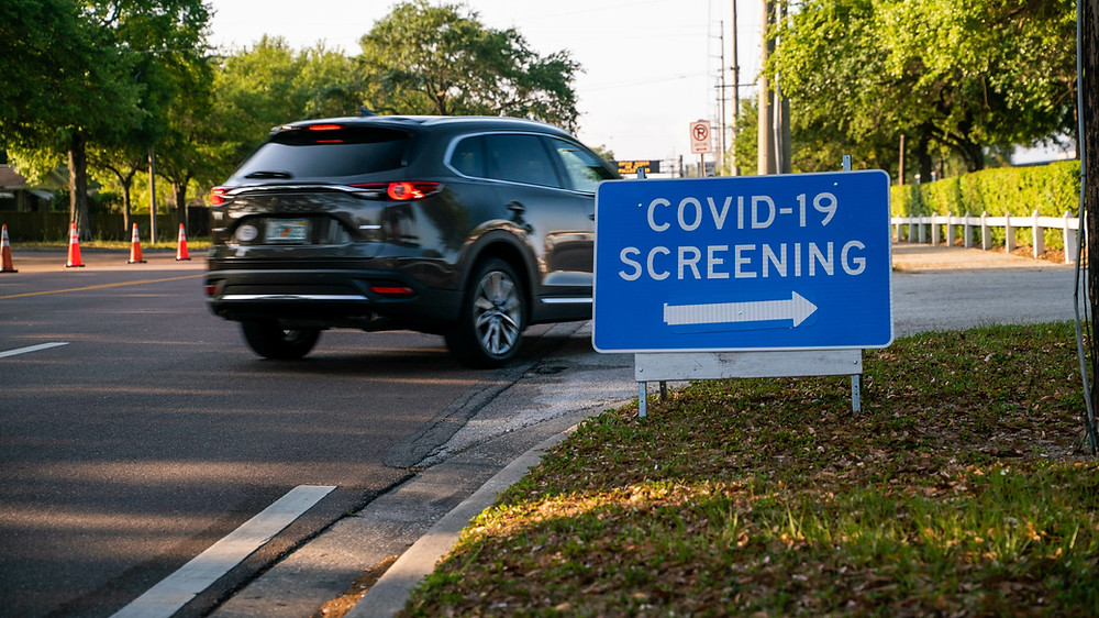 Covid-19 drive up screening