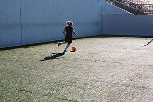 Voetbal spelen