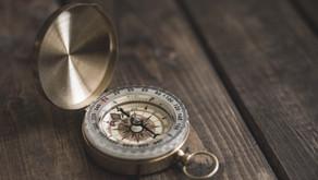 Den Kompass eingestellt