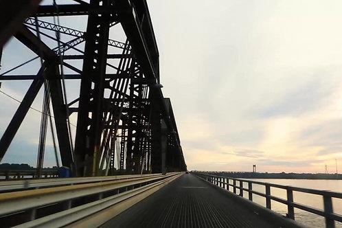 pontes de concreto armado e de estrutura de aço