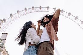 夫婦參觀倫敦