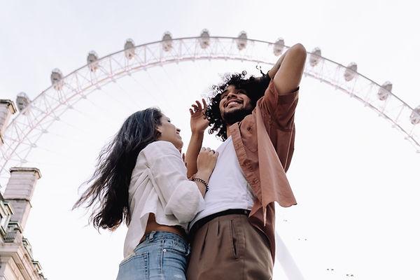 Couple Visiting London