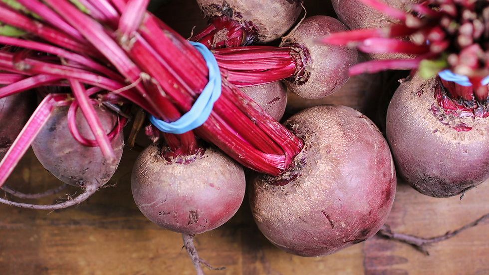 Beetroot 8 cell punnet