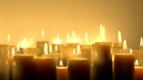 촛불을 켜다