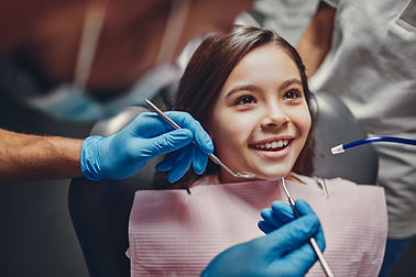 Child at the Dentist