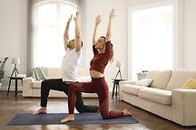 Practising Yoga