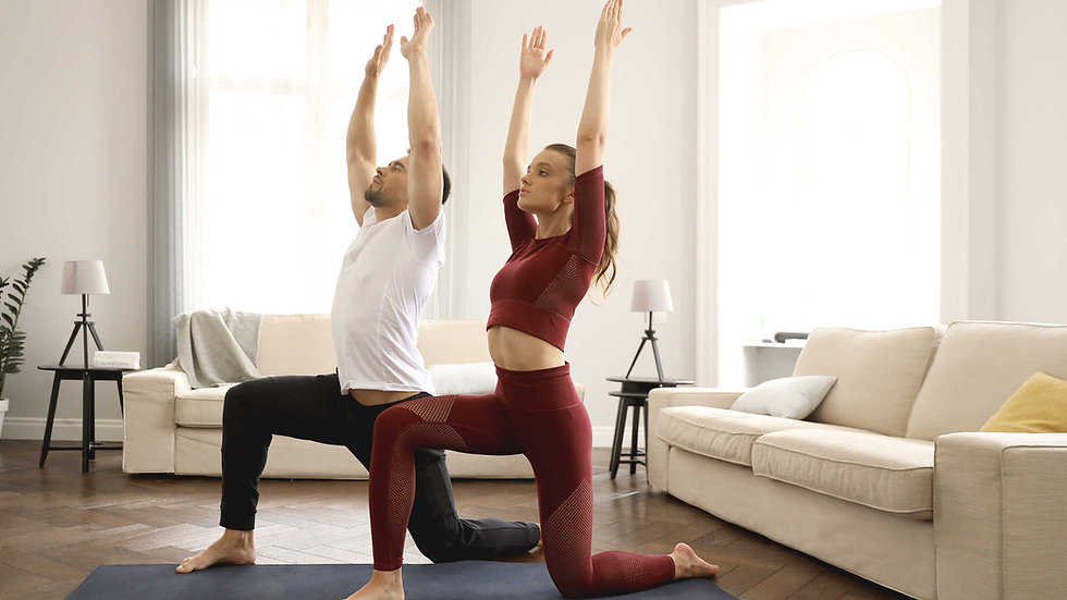 1-to-1 yoga class at your home