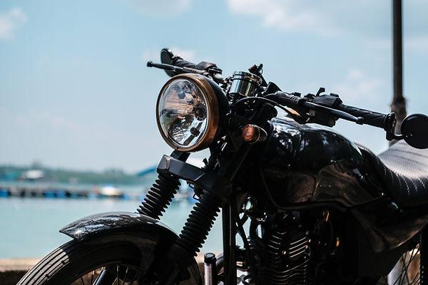 新型のバイク