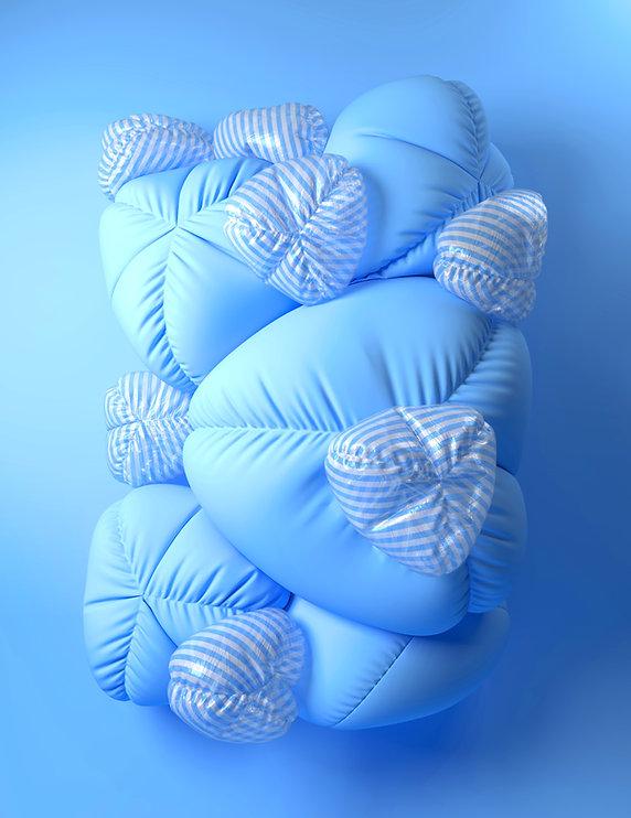 Blown Up Cushions